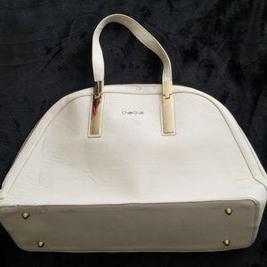 BEBE CREAM COLORED BAG